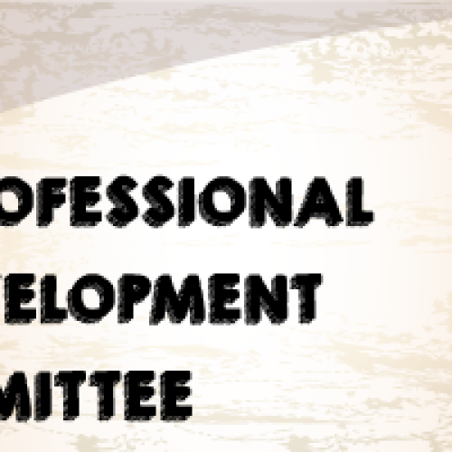 Invitation to join the Professional Development Committee and Notice of First Meeting on 2 May 2018