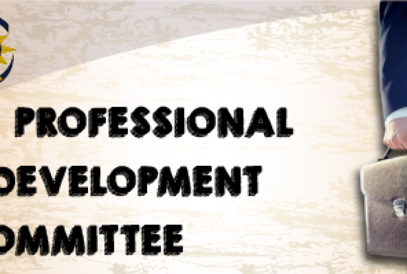 Invitation to join the Professional Development Committee