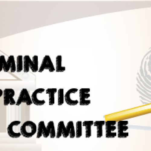 Invitation to join the Criminal Law Practice Committee and Notice of First Meeting on 12 April 2018