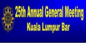 26th Annual General Meeting of the Kuala Lumpur Bar
