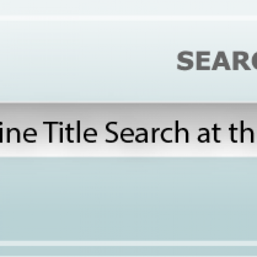 Online Title Search at the Wilayah Land Office