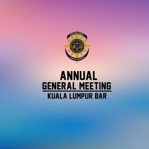 27th Annual General Meeting of the Kuala Lumpur Bar on 21 February 2019