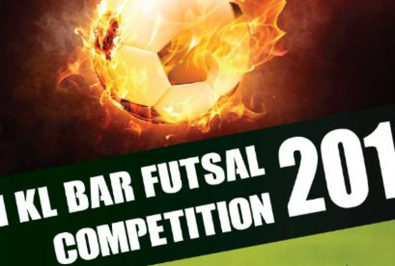 6th KL Bar Futsal Competition 2018 on 5 May 2018