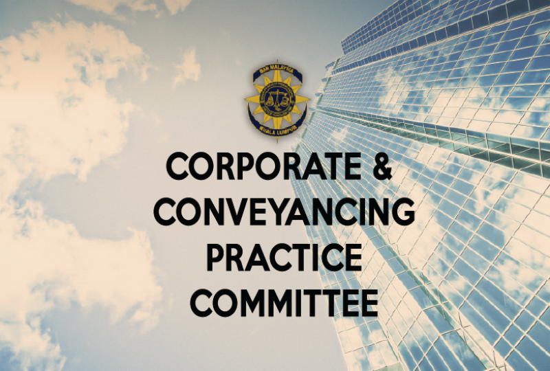 Invitation to serve the Corporate and Conveyancing Practice Committee