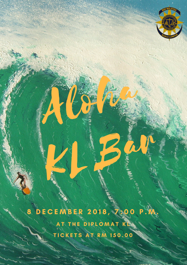 KLBAR Nite 2018 ( Aloha KL Bar)