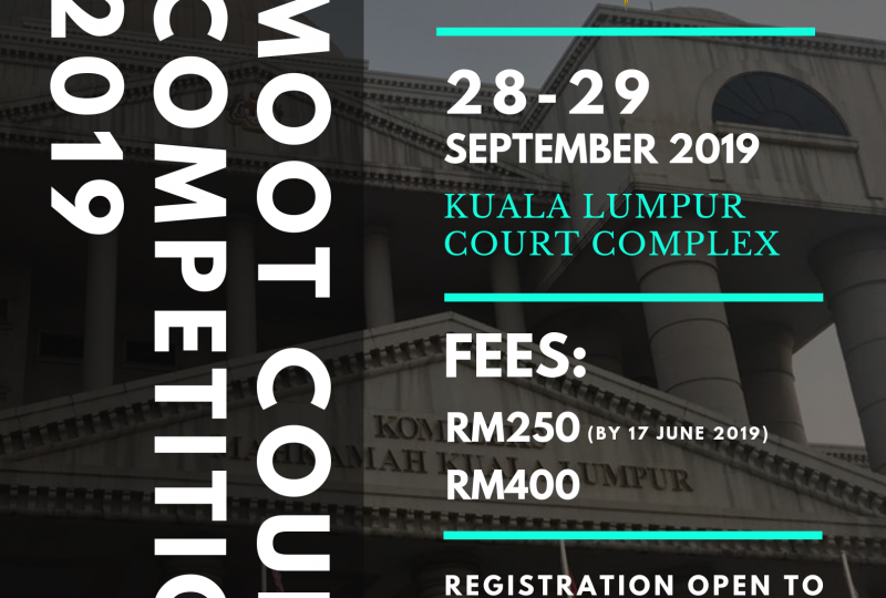 Moot Court Competition 2019