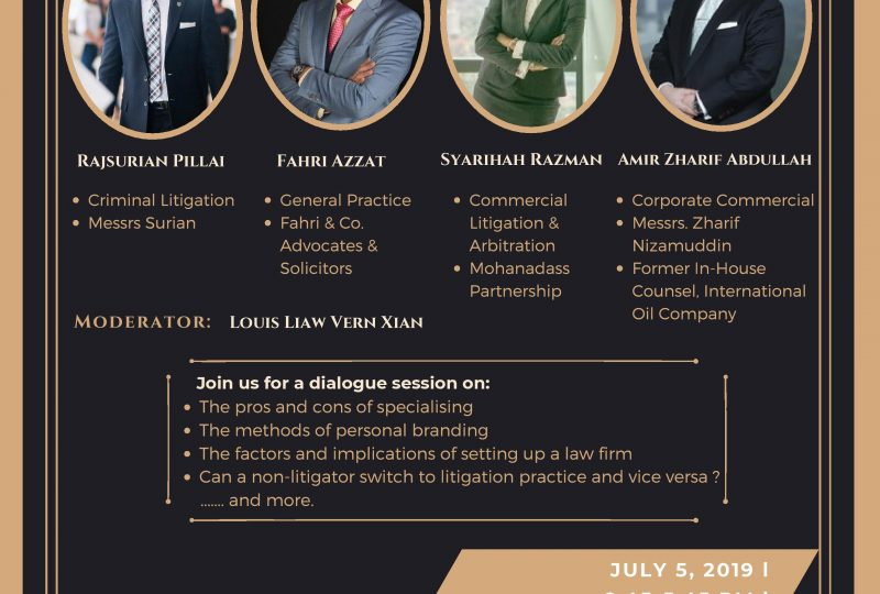 Seminar  To Generalise or Specialise? on 5 July 2019