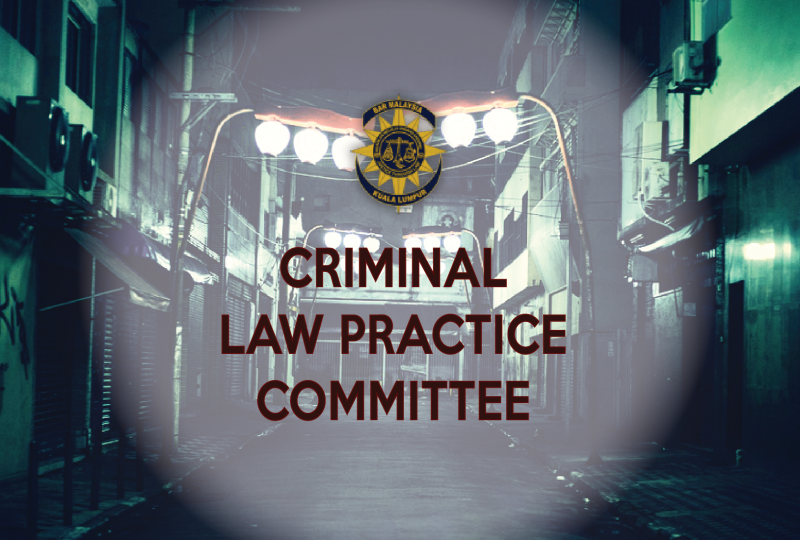 Invitation to serve the Criminal Law Practice Committee