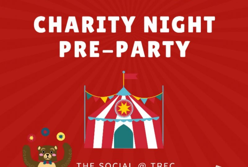 Charity Night Pre-Party on 30 August 2019