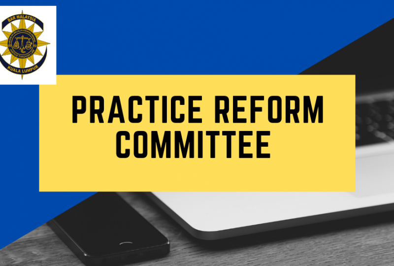 Invitation to join the Practice Reform Committee