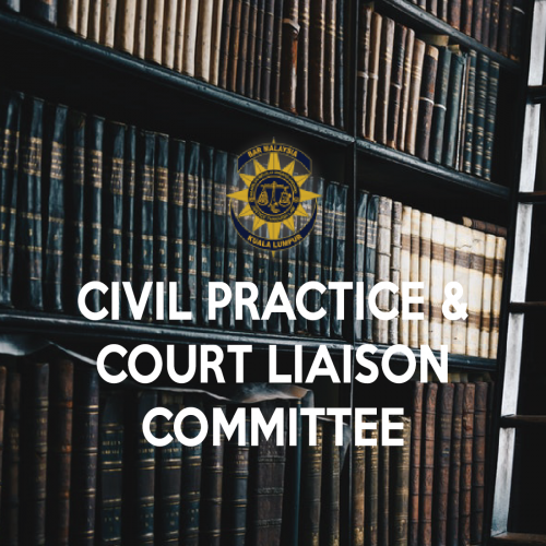 Invitation to serve the Civil Practice and Court Liaison Committee