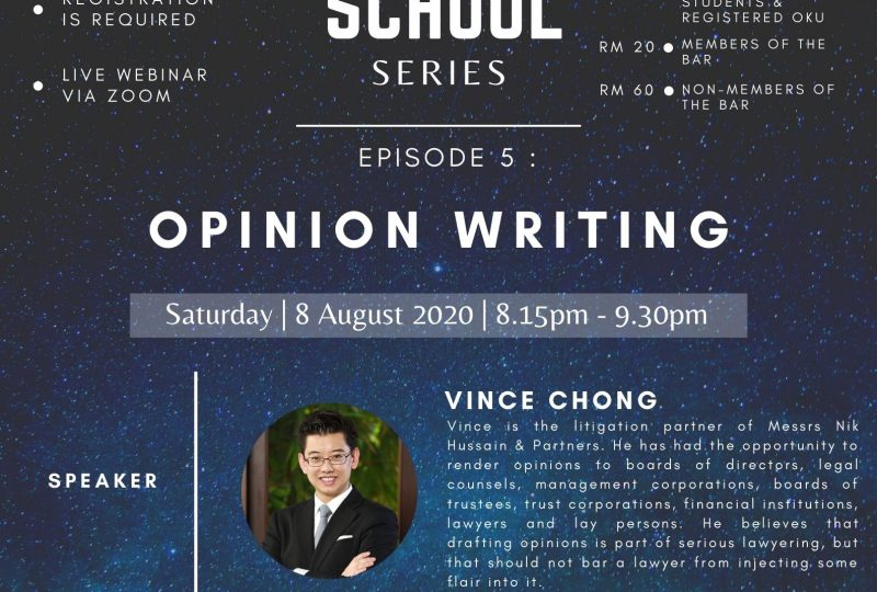 YLC Night School: Episode 5 – Opinion Writing on 8 August 2020